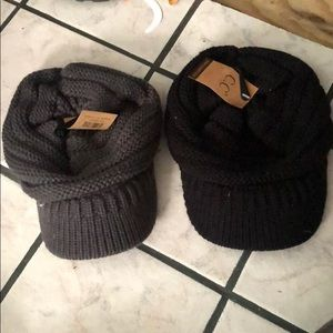 C.C hats NWT